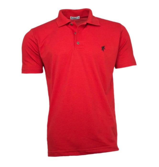 Camisa Polo Vermelha (0)