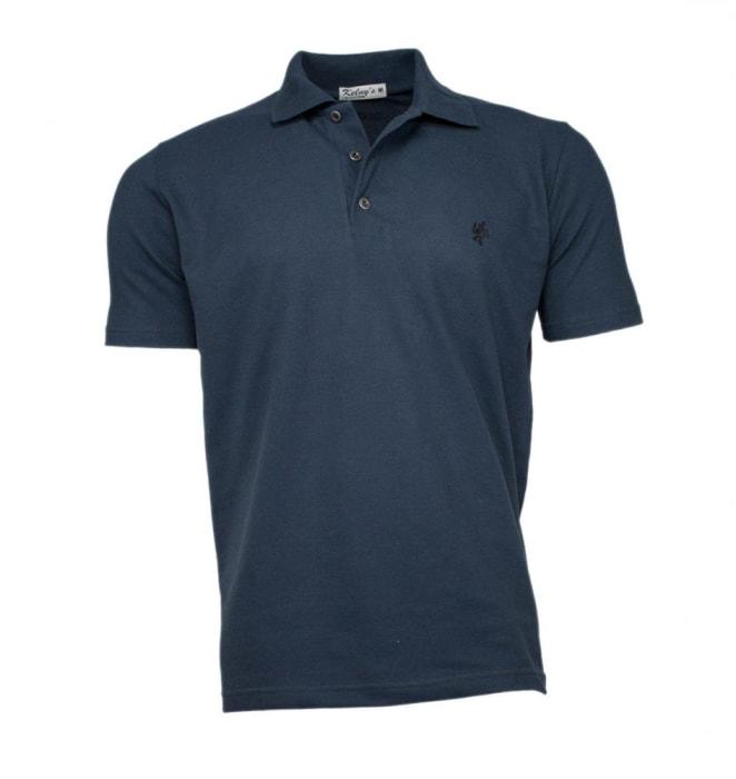 Camisa Polo Masculina Verde Petróleo (0)