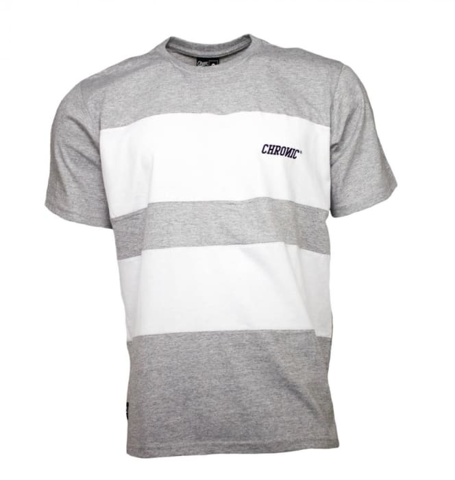 Camiseta Masculina Chronic Branca Cinza (0)