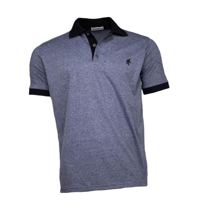 Camisa Polo Masculina Azul Mescla (0)