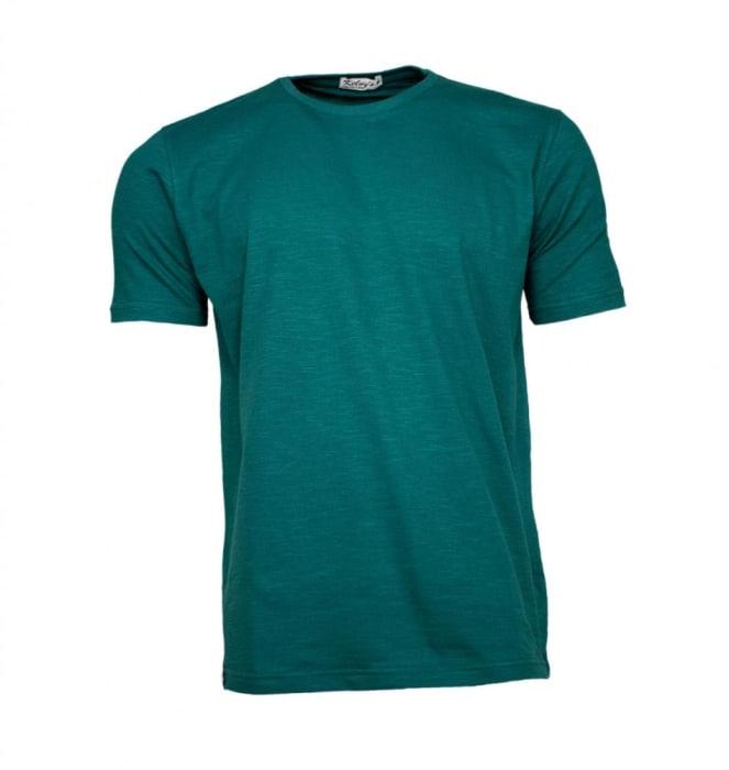 Camiseta Básica Masculina Verde Escuro (0)