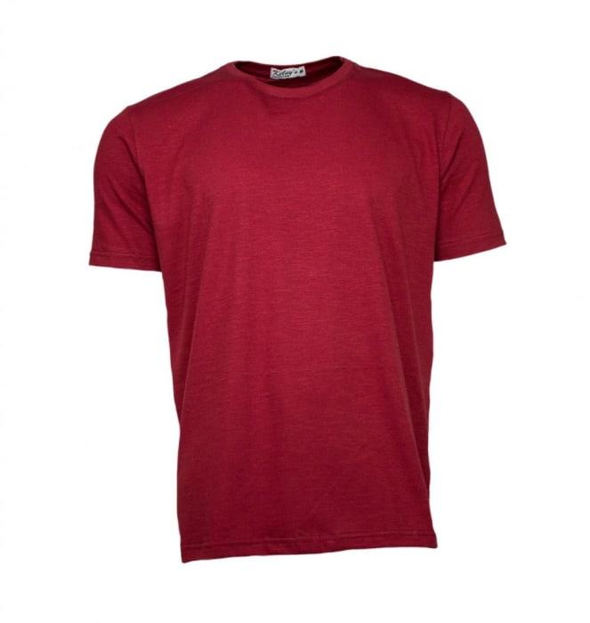 Camiseta Básica Masculina Marsala (0)