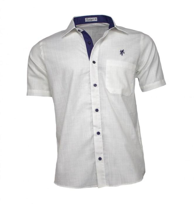 Camisa Masculina Manga Curta Cru (0)