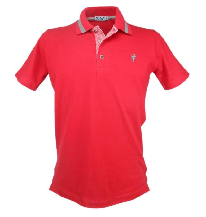 Camisa Polo Cereja (0)