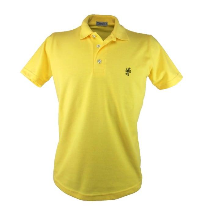 Camisa Polo Masculina Amarela (0)