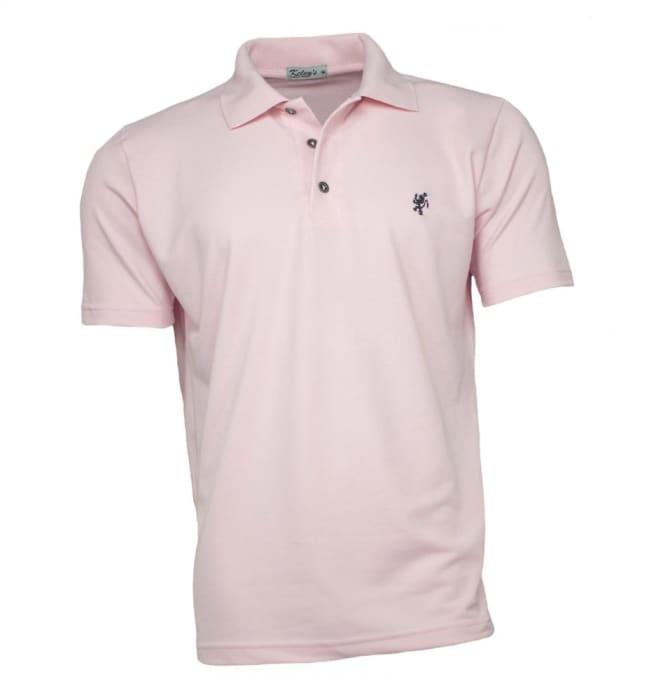Camisa Polo Masculina Rosa (0)