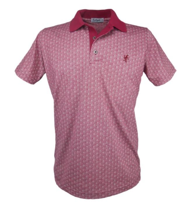 Camisa Polo Mescla Vinho (0)