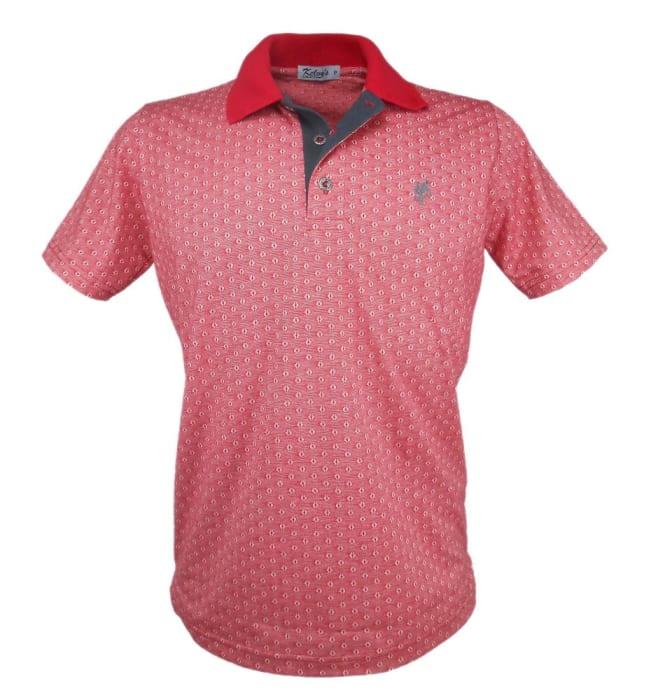 Camisa Polo Mescla Vermelha (0)