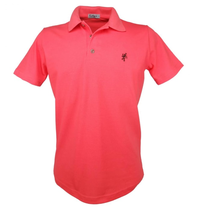 Camisa Polo Masculina Goiaba (0)