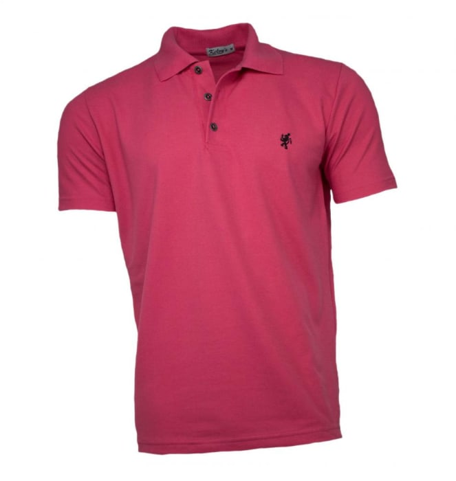 Camisa Polo Masculina Pink (0)