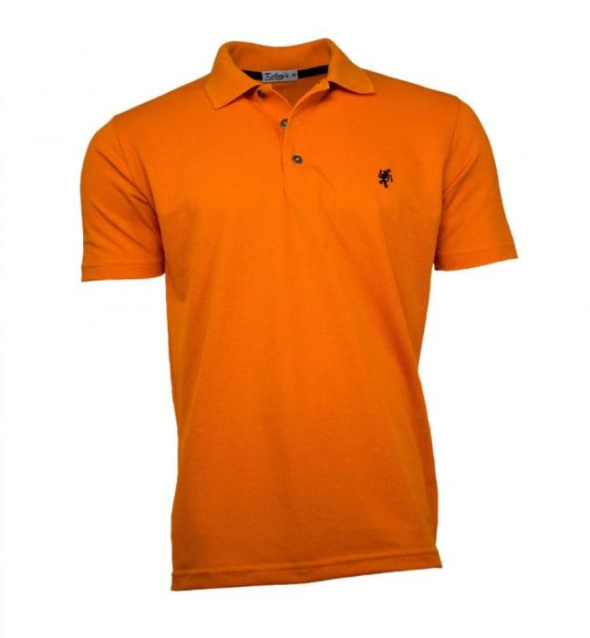 Camisa Polo Masculina Laranja (0)