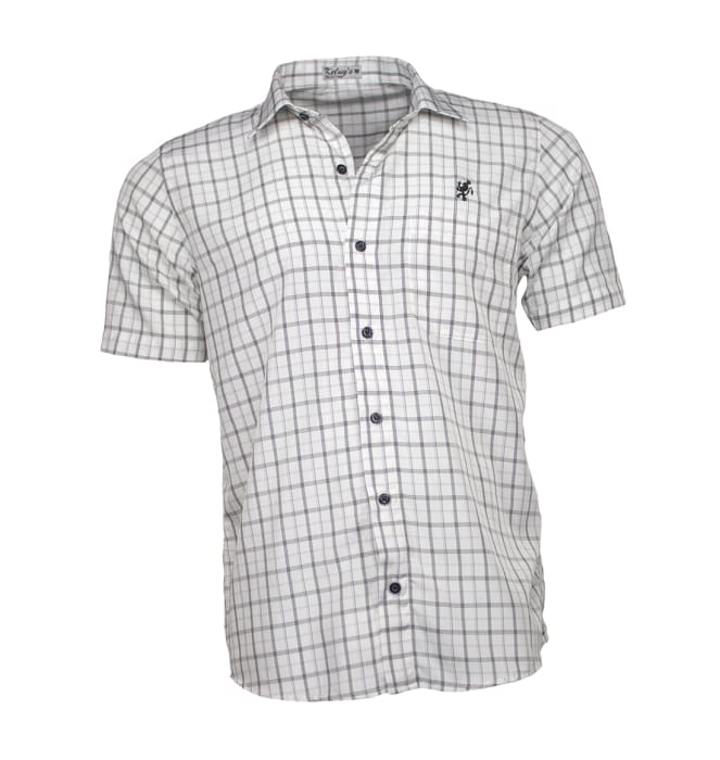 camisa-masculina-manga-curta-xadrez-branca