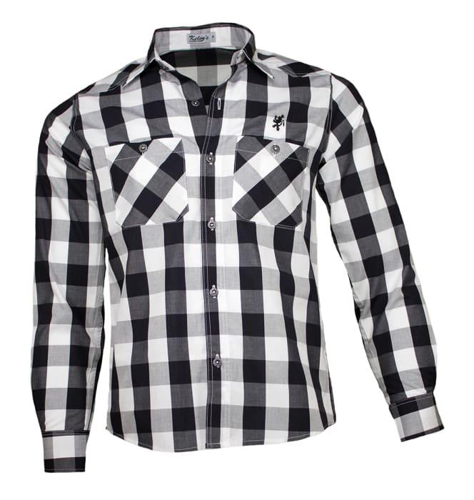 camisa-xadrez-preto-branco