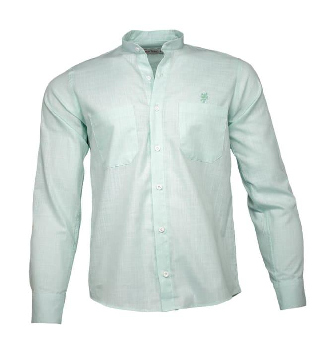 camisa-social-gola-padre-verde