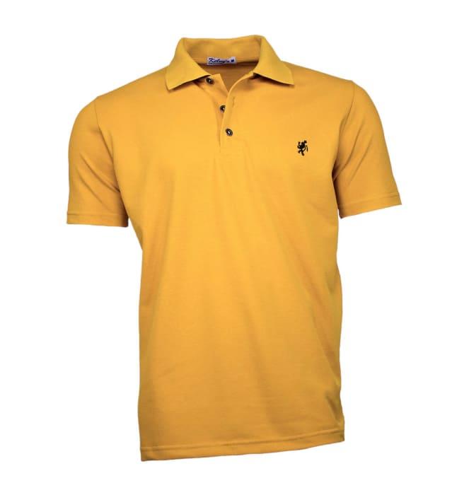 camisa-polo-masculina-mostarda