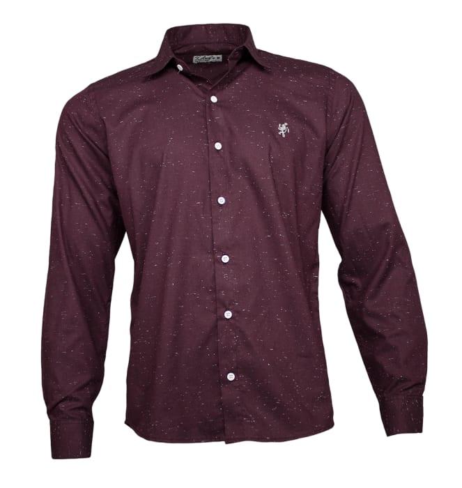 camisa-social-chuviscada-vinho