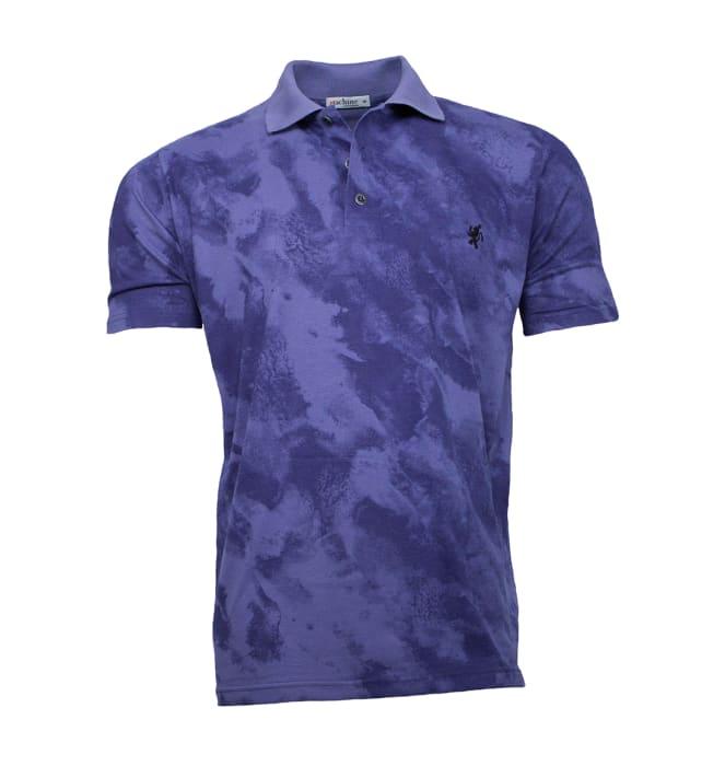 camisa-polo-masculina-marmorizada-azul