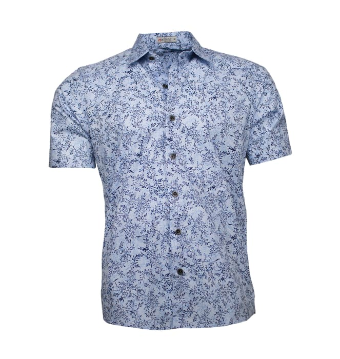 Camisa-floral-masculina-ramos-azul-claro